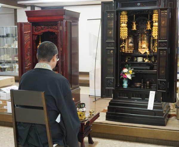 仏壇の精抜き