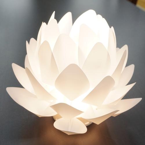 カメヤマオリガミライト蓮花
