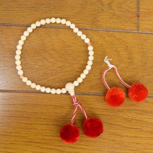 数珠修理 梵天房替え