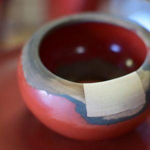 寺院用茶台修理