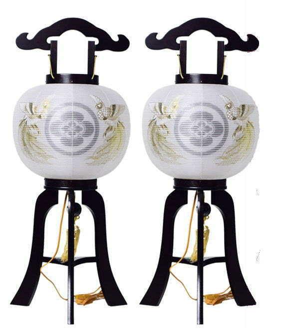 家紋盆提灯