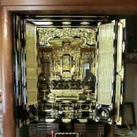 30号 金仏壇 洗濯 クリーニング
