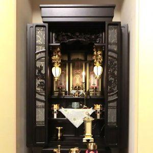 仏壇 18号 黒檀 東本願寺