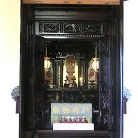 唐木仏壇 25号 黒檀 宮殿造り