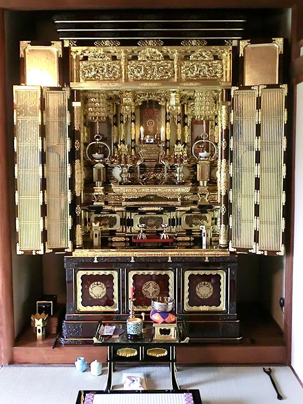 仏壇洗濯 37号金仏壇