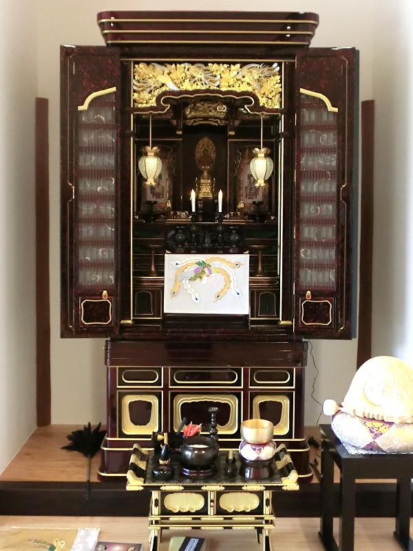 27号 禅宗用塗仏壇