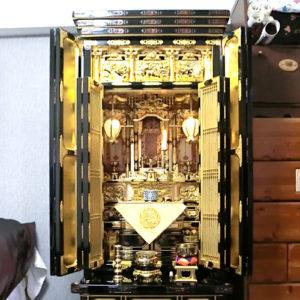 金仏壇 洗濯 クリーニング